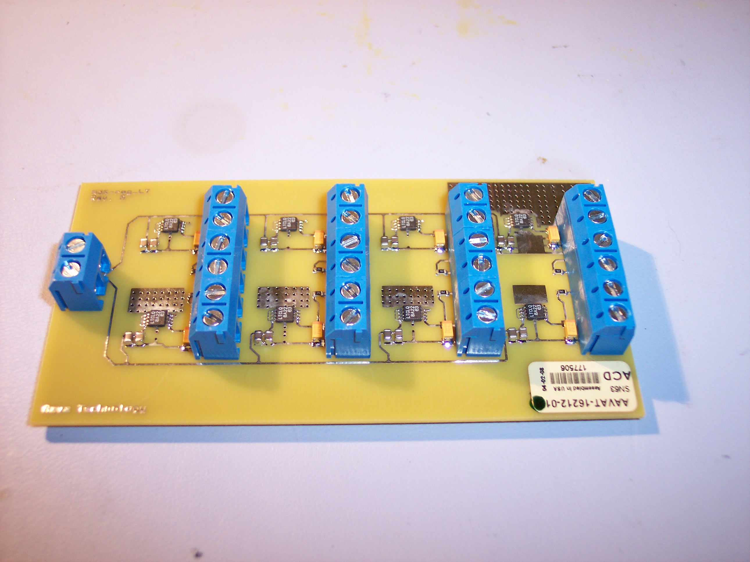 Picture of r5k sensor interface pcb